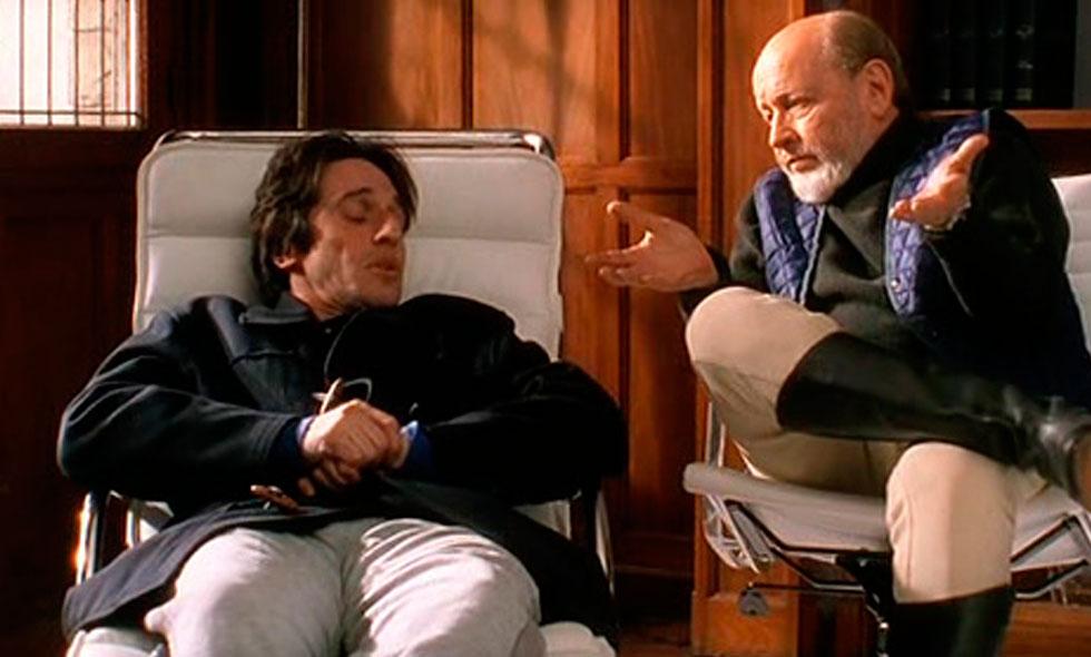 Diego Peretti y Marcos Mundstock en No sos vos, soy yo