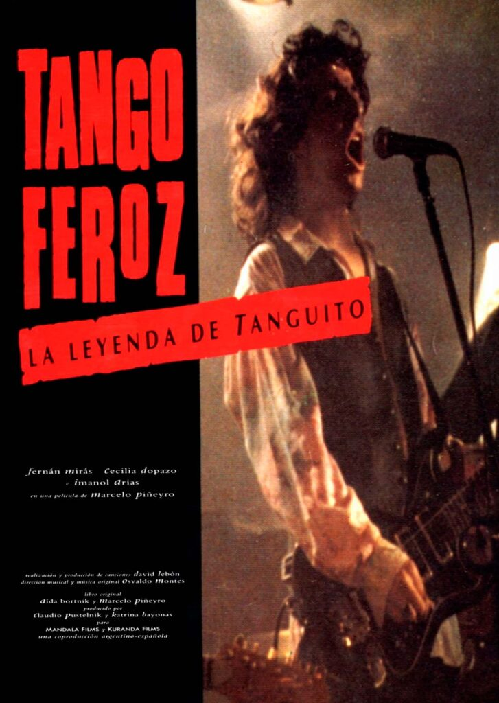 """Póster de """"Tango feroz"""""""